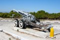 Old Cannon on Robben Island Royalty Free Stock Photo
