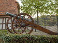 Old cannon in Switzerland - 2 Royalty Free Stock Photo