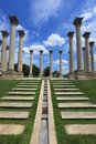 Old Capital Columns Washington DC Royalty Free Stock Photo