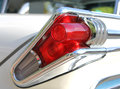 Old car brake lights tail lights Royalty Free Stock Photography