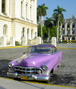 Old car  in Havana Royalty Free Stock Photo