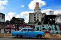Old Car in Havana Royalty Free Stock Photo