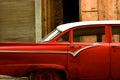 Old car in la havana Royalty Free Stock Photo