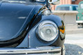 Old car lamp in a show Royalty Free Stock Photo