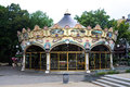 Old carousel from in colmar france Royalty Free Stock Image