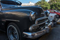 Old cars classic on the streets of cuba Royalty Free Stock Photo