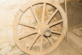 Old cart wheel Royalty Free Stock Photo