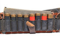 Old cartridge belt Royalty Free Stock Images