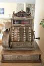 Old cash register germany national kasse in Stock Photo