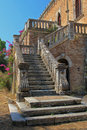 Old Castle on Corfu island Greece Royalty Free Stock Photo