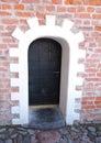 Old castle door Royalty Free Stock Photo