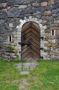 Old Castle Entrance Royalty Free Stock Photo