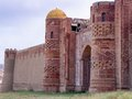 Old castle islamic in the middle asia Stock Photography
