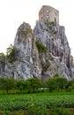 Starý hrad na skale
