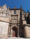 Old Cathedral in Plasencia Stock Image