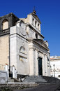 Old catholic church an near catania in mount etna side Royalty Free Stock Images