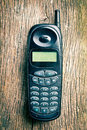 Old cell phone Royalty Free Stock Photography