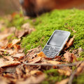Old cell phone Royalty Free Stock Photo