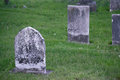 Old Cemetery Headstones Royalty Free Stock Photo