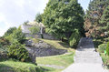 Old Cetatuia Park in Cluj-Napoca town from Transylvania region in Romania Royalty Free Stock Photo