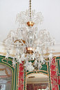 Old chandelier. Royalty Free Stock Photography