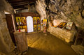 Old chapel in Agia Sofia cave, Crete, Greece Royalty Free Stock Photo