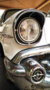 Old Chevrolet car lamp Royalty Free Stock Photo