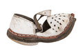 Old children's sandals Royalty Free Stock Photo