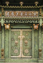 Old Chinese door, George Town, Penang, Malaysia Royalty Free Stock Photo