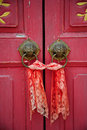 Old chinese door Royalty Free Stock Photo