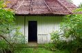 Old Chinese farm house in tropics Stock Photo