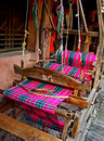 An old Chinese loom Royalty Free Stock Photos