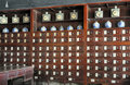 Old Chinese pharmacy Royalty Free Stock Photo