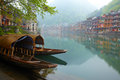 Old Chinise traditional town Royalty Free Stock Photography