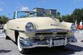 Old Chrysler Car at the car show Royalty Free Stock Photo