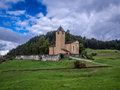 Old church in the Alps - 4 Royalty Free Stock Photo