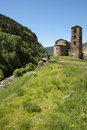Old church in Andorra Royalty Free Stock Image