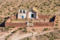 Old church in Atacama Desert, Chile Royalty Free Stock Photo