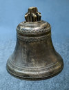 Old church bell on background Royalty Free Stock Images