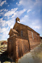 Old Church at Bodie Royalty Free Stock Images