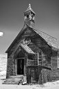Old Church, Bodie California Royalty Free Stock Photo