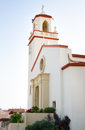 Old church catholic religious exterior of a Royalty Free Stock Photo
