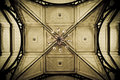 Old church ceiling Royalty Free Stock Photos