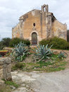 Old church in the countryside in sicily italy Royalty Free Stock Image