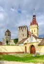 Old church in cristian brasov romania the fortified of district Stock Photo