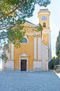 The old church in Eze Royalty Free Stock Photo