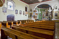 Old church interior in poland Royalty Free Stock Photo