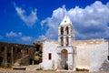 Old church at kythera island greece Royalty Free Stock Photo