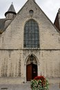 Old church in lier belgium Royalty Free Stock Photo