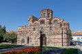 Old church nessebar bulgaria unesco world heritage site Royalty Free Stock Images